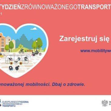 """Konkurs plastyczny pt. """"Korzystaj ze zrównoważonej mobilności. Dbaj o zdrowie"""""""